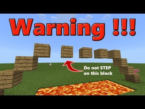 PARKOUR TRAP (Multiplayer, Server Trap) Minecraft PE