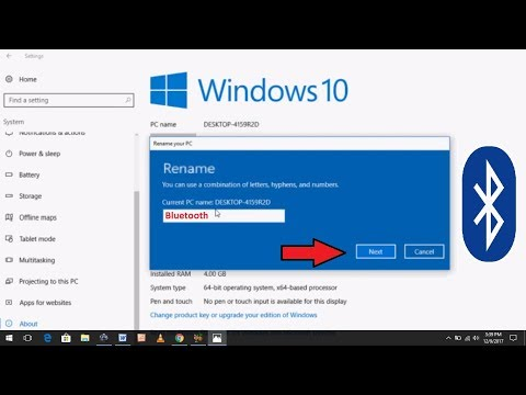How to Change Bluetooth Name in Windows 10