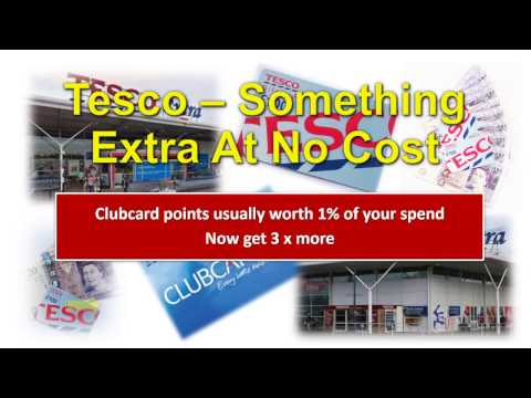 Tesco Clubcard with additional 2% Cashback