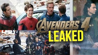 Download Avengers 4 Time Travel Set Photos Explained Discussion Video