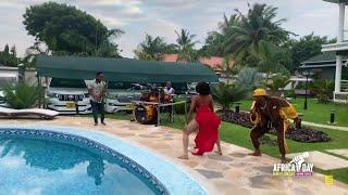 DIAMOND ALIVYOIPIGA SHOW YA JEJE NYUMBANI KWAKE | MTV BASE WAMPA HESHIMA YA MSANII BORA AFRICA