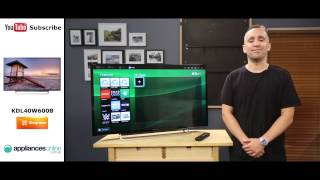 "Sony KDL40W600B 40"" Full HD Smart LED LCD TV Reviewed by product expert - Appliances Online"