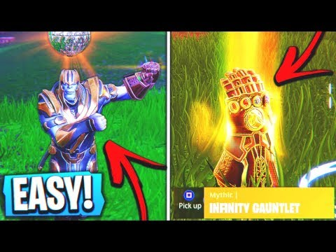How to Kill Thanos and Steal Infinity Gauntlet in Fortnite