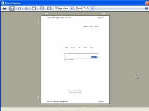 Print web pages with all colors and graphics included in IE7