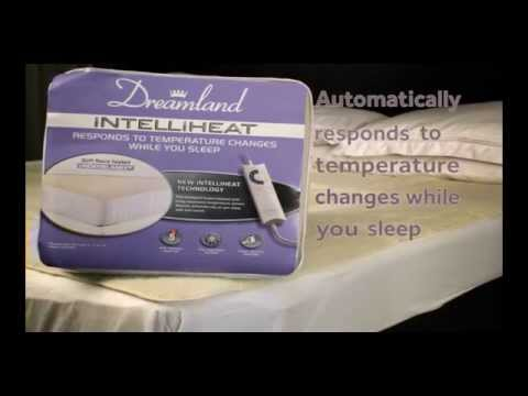 Electric blanket - Dreamland Intelliheat - Premium Fleece Heated Underblanket