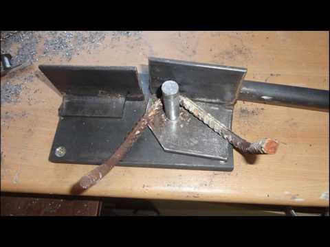 DIY Universal Iron rod metal bender / Metall biegen Biegevorrichtung