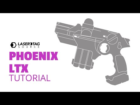 Phoenix LTX Laser Tag Gun Instructional Video, Laser Tag Source