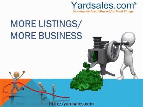 How to Generate Real Estate Leads with Yard Sales