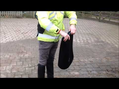 WOW Supercool Saddle Cloths - just how easy are they to clean