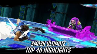 Launch Top 48 Smash Bros Ultimate Highlights