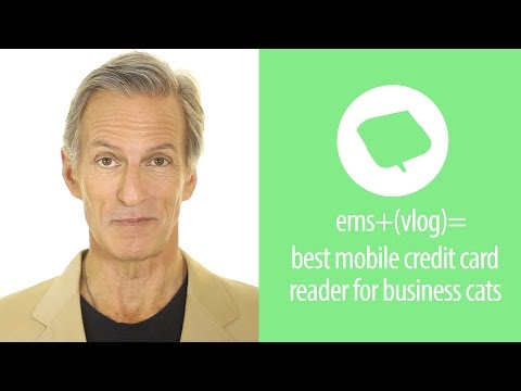 What's the best mobile credit card reader for your cat's small business?