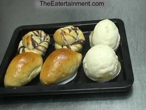 DIM SUM BAKE RED BEAN PASTE BUN N OTHER Asian Chow Bakery @AsianChow.com