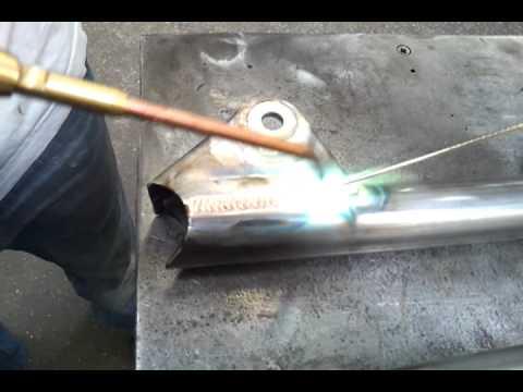 Bronze welding V8 Ariel Atom