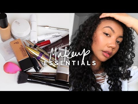 THE ONLY MAKEUP PRODUCTS YOU NEED | A Beginner's Makeup Kit