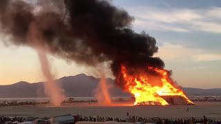 Burning Man Pyramids & Dust Devils