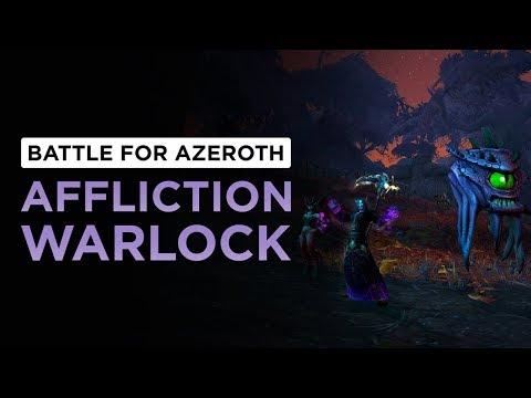 DoT Snapshotting RETURNS?! Affliction Warlock | WoW: Battle for Azeroth - Beta [2nd Pass]