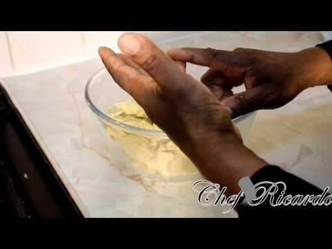 Best Jamaican Home Make Cornmeal Dumpling With Corn Beef | Recipes By Chef Ricardo