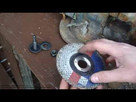 How to cut steel bolt using cutting disc and electric drill