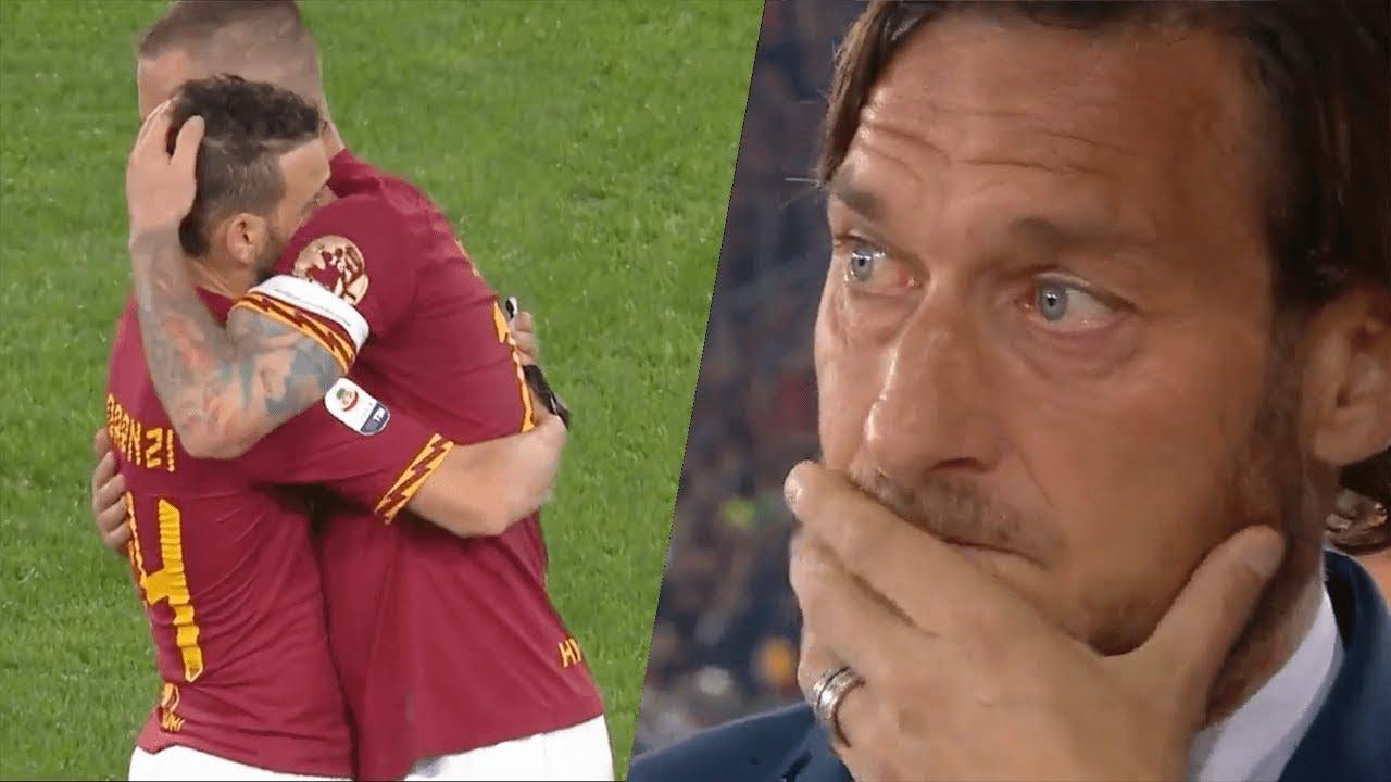 축구의 감동적인 이별의 순간들....