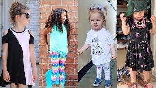 اجمل ملابس اطفال بنات صيفية 2018 , احدث ملابس الاطفال , ازياء اطفال بناتي 2018