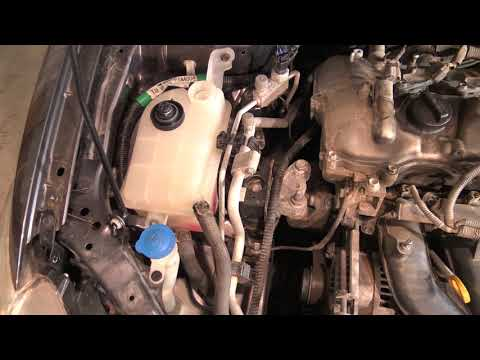 How to Drain out Coolant liquid Toyota Corolla. Years 2007 to 2018