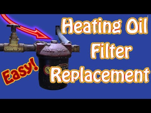 How to Replace a Home Heating Oil Filter - Biasi Boiler and Riello Burner Maintenance Part 1
