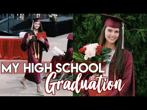 MY HIGH SCHOOL GRADUATION 2018! grwm/vlog
