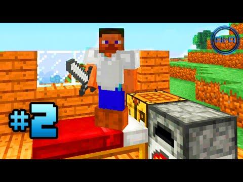 Minecraft PS4 gameplay Part 2 -