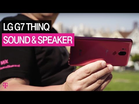 NEW LG G7 ThinQ Specs: Sound & Speaker Review | T-Mobile