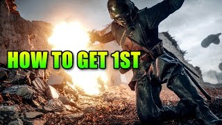 How To Get 1st Place In Battlefield 1