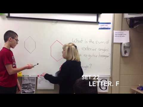 Sum Of Exterior Angles Of A Hexagon