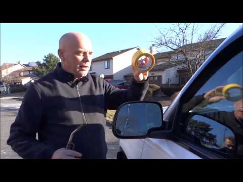 DIY How to Repair and Replace a Broken Side View Mirror Glass