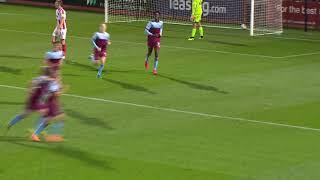 Highlights Cheltenham Town 4 3 West Ham United Under 21s