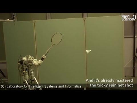 Badminton's hottest new talent is a robot