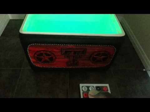Custom one of a kind ice chest radio