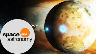 Places to See at Jupiter - Io, the moon with over 400 volcanoes