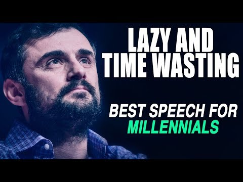 GREATEST SPEECH EVER - Gary Vaynerchuk on Millennials and Procrastination | MOST INSPIRING!