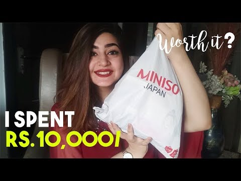 Miniso Haul | I SPENT RS 10,000 WAS IT WORTH IT? GLOSSIPS