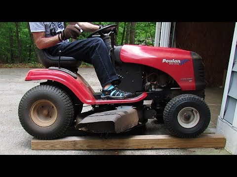 How to Elevate Your Riding Mower for Easy Blade Access