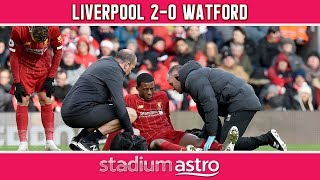 Liverpool 2-0 Watford | EPL Highlights | Astro Supersport