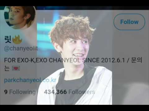 TOP 10 Most followed male idols Fansite (EXO BTS)