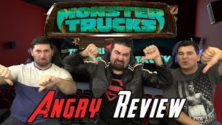 Monster Trucks Angry Movie Review
