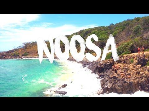 TRAVELLING NOOSA, AUSTRALIA || GoPro HERO 4 || DJI DRONE || 2017