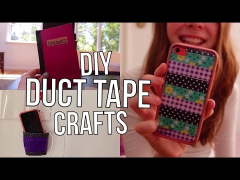 DIY Duct Tape + Washi Tape Crafts/Projects