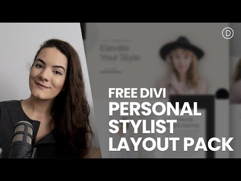 Get a FREE Personal Stylist Layout Pack for Divi