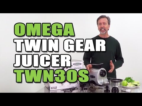 Omega Twin Gear Juicer TWN30S Review