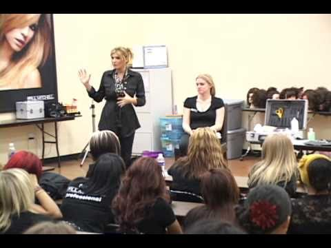 Rain Andreani guest speaker at the Paul Mitchell School