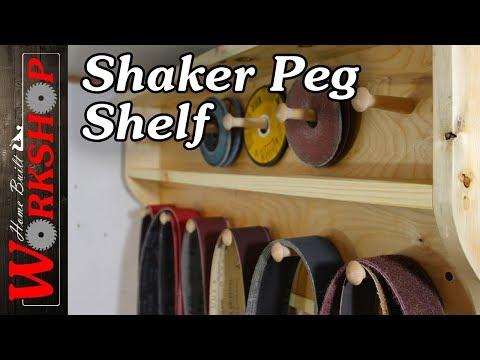 How to build a Shaker Peg Shelf