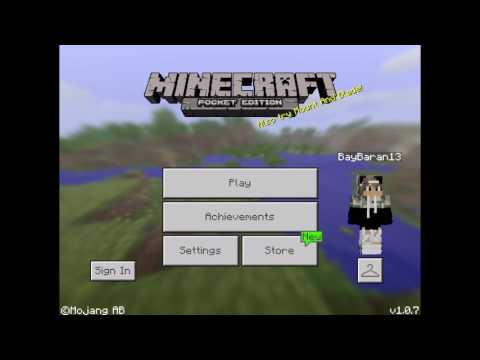 Minecraft PE how to make house with command block!!