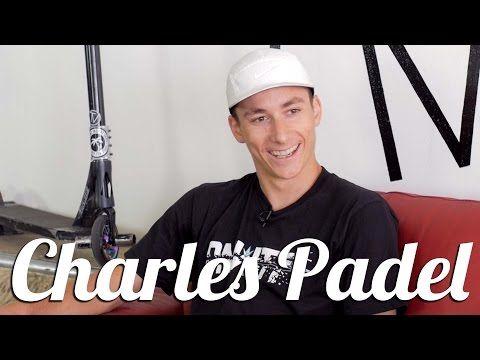 Charles Padel Interview │ The Vault Pro Scooters